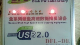 Data Recovery Hardware Tools DFL-DE : Repairs Clicking WD HDD