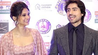 Bepanah Actors Jennifer Winget And Harshad Chopra Interview At Lions Gold Awards 2019