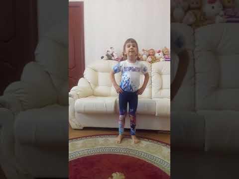Поет Софья Мартыненко 5 лет.
