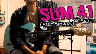 SUM 41 - UNDERCLASS HERO ♫ Guitar Cover Alexis Devaux ♫