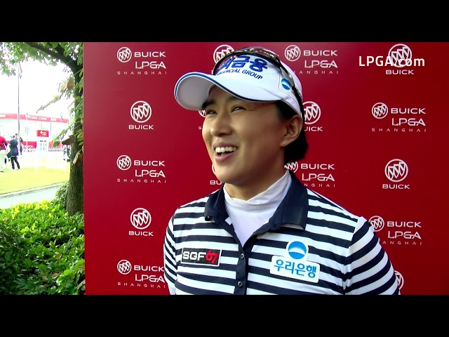 Amy Yang Talks First Round of the 2019 Buick LPGA Shanghai