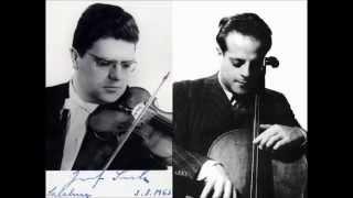 Josef Suk / André Navarra, Brahms Double Concerto Op.102, Karel Ančerl