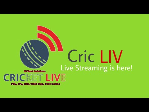 Cric LIV - Live Streaming Is Here