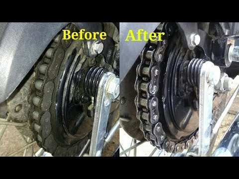 Cleaning & lubing chain/ Royal Enfield classic 350