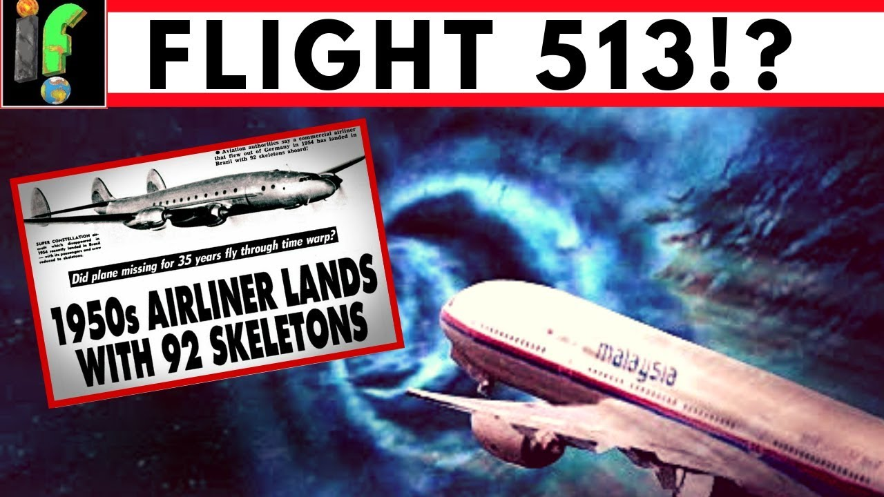 Flight 513 Mystery When Missing Plane Reappears Years Later Youtube