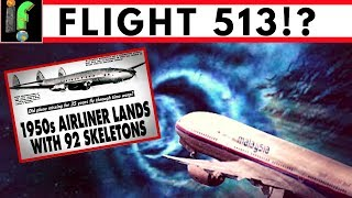 Flight 513. Mystery When Missing plane reappears years later!