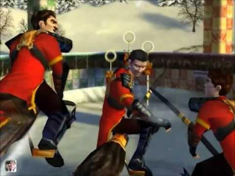 Gryffindor against Bulgaria Quidditch World Cup, pcgame