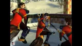 Gryffindor against Bulgaria (Quidditch World Cup, pc-game)