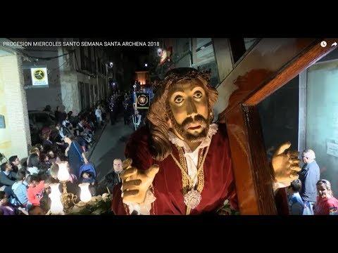 PROCESION MIERCOLES SANTO SEMANA SANTA ARCHENA 2018