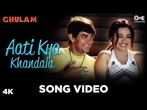 Aati Kya Khandala   Ghulam   Aamir Khan & Rani Mukherjee   Alka Yagnik   90's Blockbuster Songs