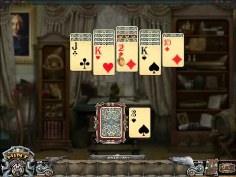 Solitaire Mystery: Stolen Power (Gameplay)