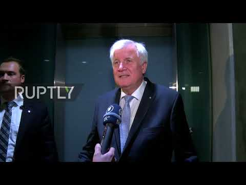 Germany: Merkel, CSU and SPD end first round of coalition talks