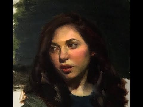 Portrait Painting in Oil | The Creative Process
