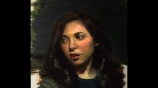 Portrait Painting In Oil The Creative Process