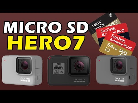 How to Choose Micro SD Card For Hero 7 Black Silver White