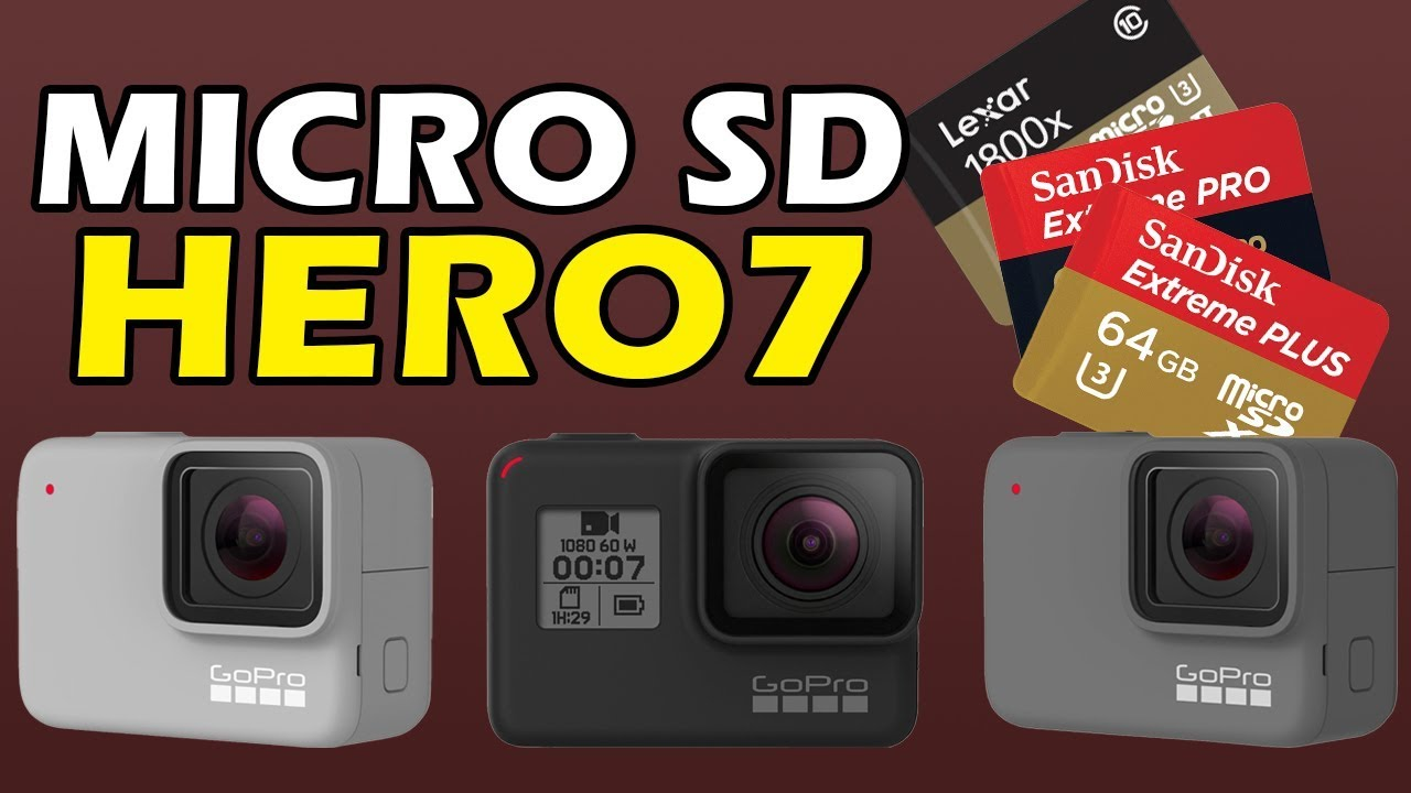 How To Choose Micro Sd Card For Hero 7 Black Silver White Youtube
