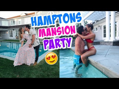 HAMPTONS MANSION PARTY!!!
