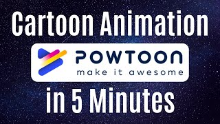 Create Animation Video in 5 Minutes using Powtoon (Hindi)