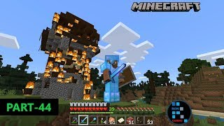 MINECRAFT GAMEPLAY | WE FOUND RAIDERS BASE AND TOOK REVENGE FOR ATTACKING OUR VILLAGE#44