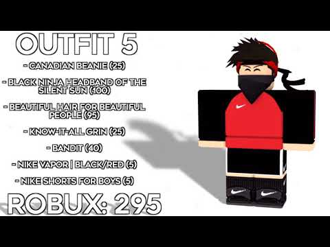 10 AWESOME ROBLOX OUTFITS!!!