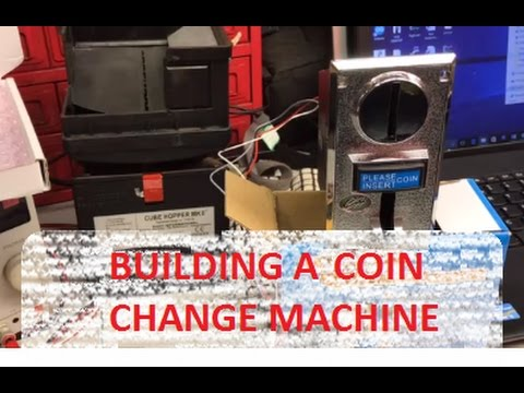 How to Build a Change Machine – Arduino Project for Arcade
