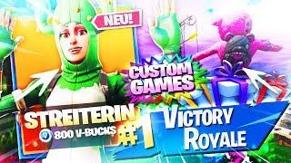 CUSTOM GAMES! + SKINS VERSCHENKEN🔥🛒LIVE neuer FORTNITE ITEM SHOP 4.4.19   Fortnite Battle Royale