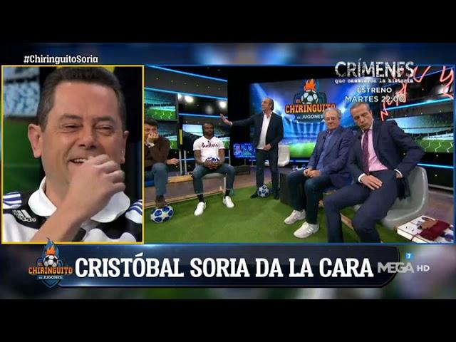 Cristóbal Soria DA LA CARA: He tenido fiebre pero había que estar aquí