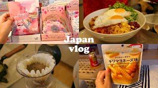 일본 브이로그ㅣ일본 직장인 일상, 스팀걸레 청소,인테리…