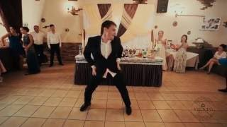 Лучший танец жениха. Александр и Екатерина 30.07.2016