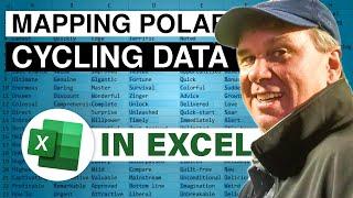 Analyze Polar Flow Cycling Data In Excel - 2337