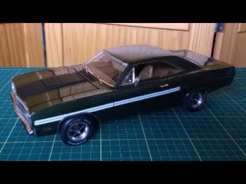 1970 Plymouth GTX Hemi, 1:18 scale, by GMP unboxing and review