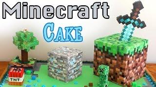 Minecraft Cake   BananaJamana!