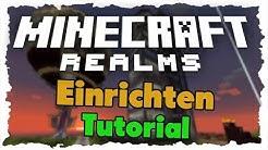 Minecraft Realms einrichten & Spieler einladen - Tutorial