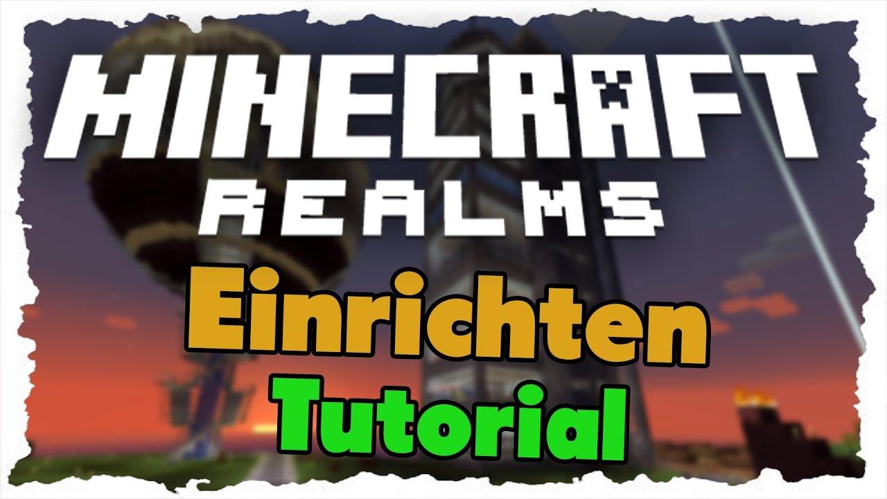 minecraft realms einrichten & spieler einladen - tutorial - youtube, Einladung