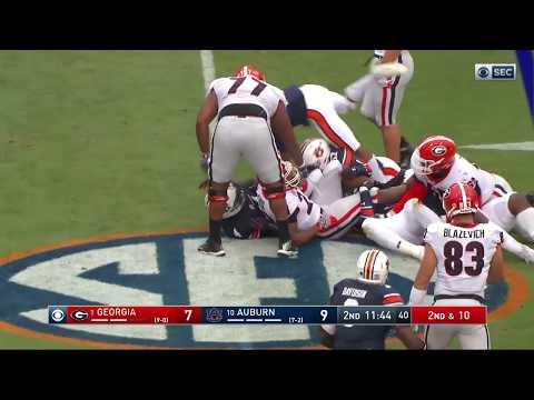 Auburn Football Review: Georgia