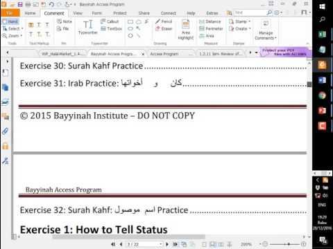 NTUST-IMSA Fourth Day of Arabic Class