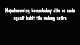 Repeat youtube video Gloc 9 - Walang Natira lyrics w/ HQ Audio