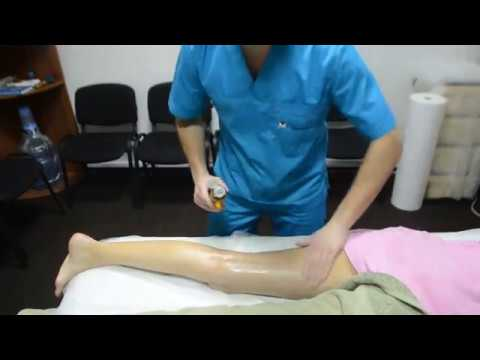 Расслабляющий массаж ног видеоурок