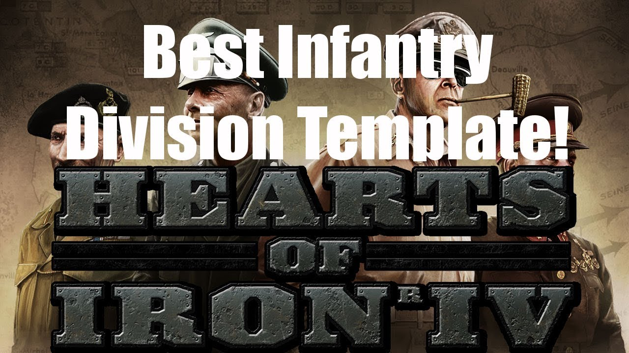 Hearts of Iron 4 - (OLD) Best Infantry Division Template!