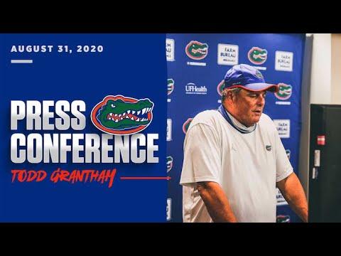 Florida Football: Todd Grantham Press Conference 8-31-20