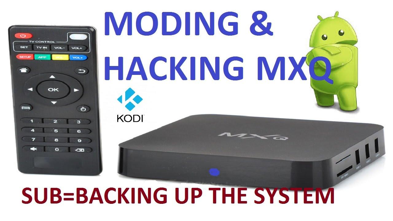 MXQ xbmc/kodi box moding and hacking tutorials