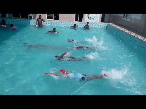 Freestyle Race   Crawford Swimming World 08090969849