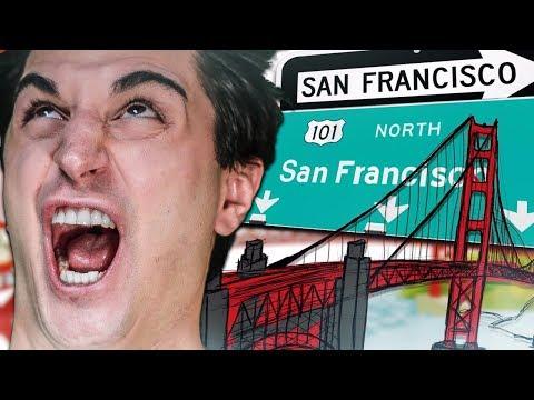 VLOG EPICO A SAN FRANCISCO CON I MATES!! VISITIAMO POSTI INCREDIBILI!