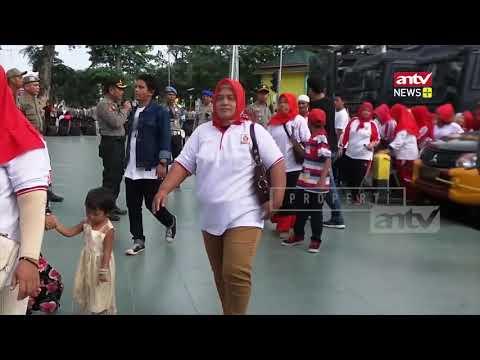 "Aksi Deklarasi ""Jokowi 2 Periode"" Dan ""2019 Ganti Presiden"", 1.040 Aparat Dikerahkan"