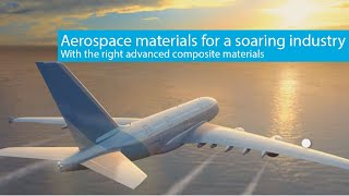 Solvay's advanced materials for aerospace