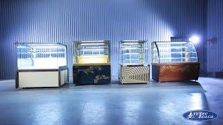 Видео обзор кондитерских витрин компании Технохолод