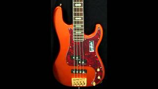 Bass Mods KQ4 4 String bass with Delano Pickups and Bass Mods Preamp.