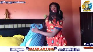 Papago Matome imitating the late Big Boy From Skeen Saam on Mahlakung Thobela FM
