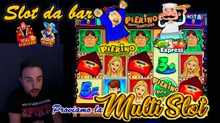SLOT MACHINE BAR - Proviamo la MULTI SLOT🎰 (Multigioco con PIERINO, PIZZA EXPRESS, CHICAGO e altri)