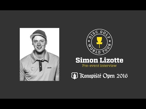 2016 Konopiste Open pre-event interview - Simon Lizotte